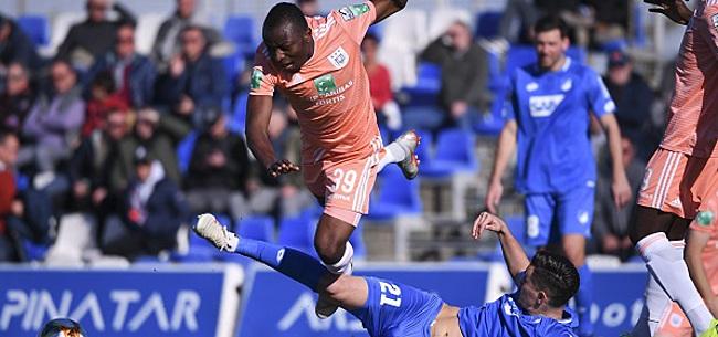 Foto: Coup dur pour Anderlecht et les U21 belges: saison terminée pour Dimata