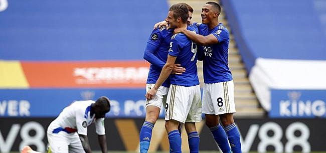 Foto: Premier League - Leicester s'impose, Tielemans à l'assist