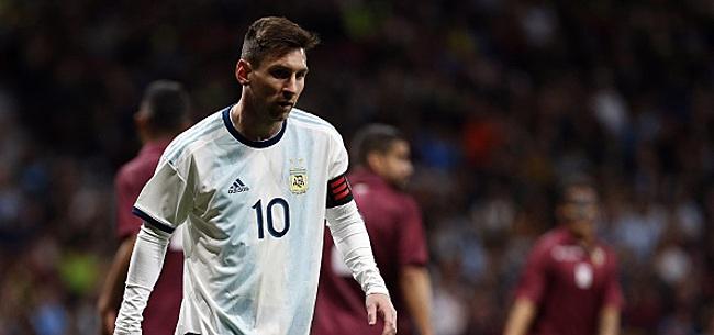 Foto: Copa América: l'Argentine trébuche déjà!