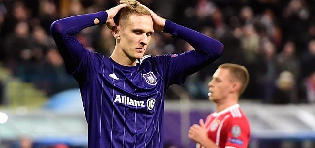 Foto: Teodorczyk, vexé, peut toujours quitter Anderlecht !