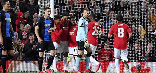 Foto: United corrige Bruges, Lukaku offre la victoire à l'Inter