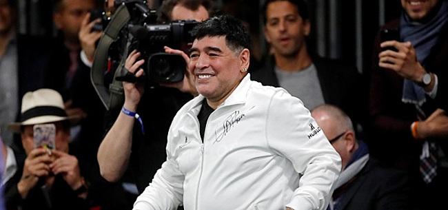 Foto: Maradona démissionne du Gimnasia La Plata