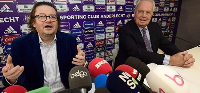 Foto: Coucke met les choses au point à propos du mercato d'Anderlecht