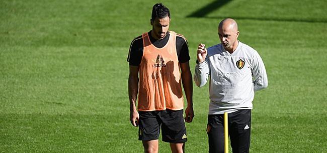 Foto: Martinez donne un conseil à Chadli au moment de choisir son club