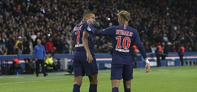 Foto: Neymar et Mbappé insistent, Hazard y pensait