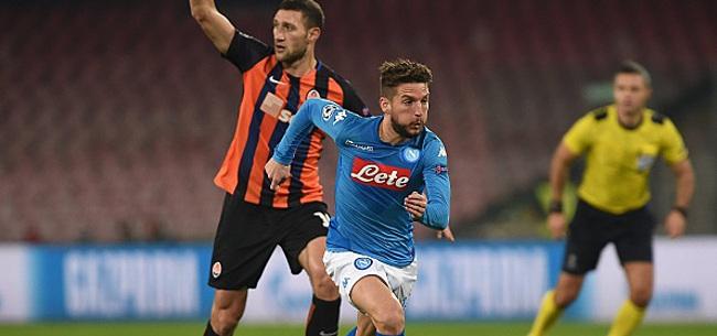 Foto: Pas d'exploit pour Mertens avec le Napoli