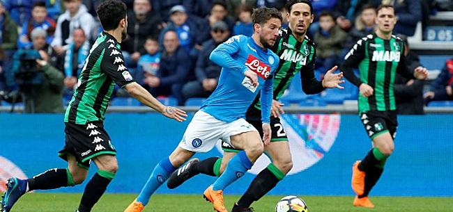 Foto: Le titre s'éloigne pour Naples