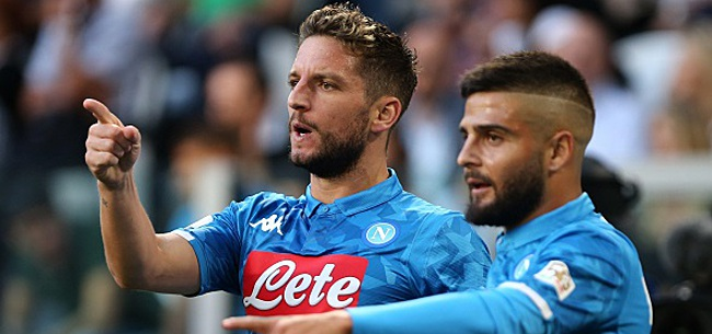 Foto: Dries Mertens blessé? Naples révèle le diagnostic