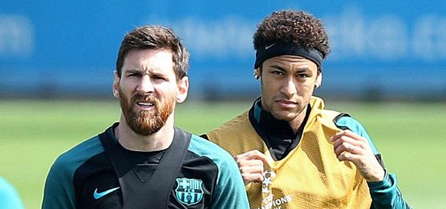 Foto: Messi a téléphoné à Neymar: