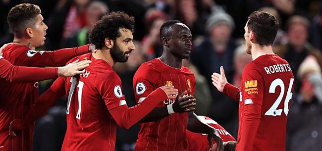 Foto: Liverpool gagne dans la douleur et vise le record des 'Invincibles'
