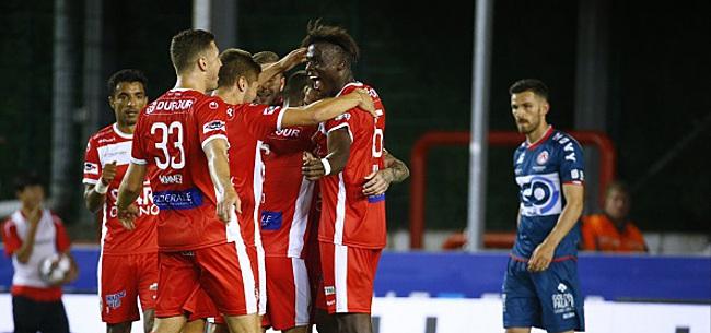 Foto: Mouscron gagne encore. Un adversaire pour le Standard et Bruges?
