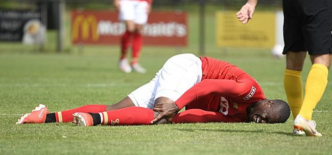 Foto: Standard: on en sait un petit peu plus sur la blessure d'Obbi Oulare