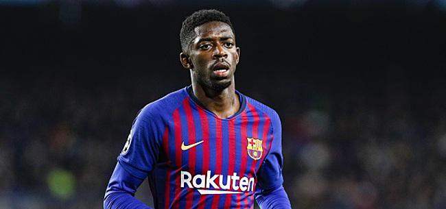 Foto: Grosse tuile pour le FC Barcelone: Dembélé souffre d'une lésion musculaire