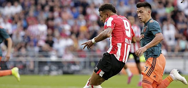Foto: Eredivisie: le PSV Eindhoven et l'Ajax se neutralisent, Malen encore buteur