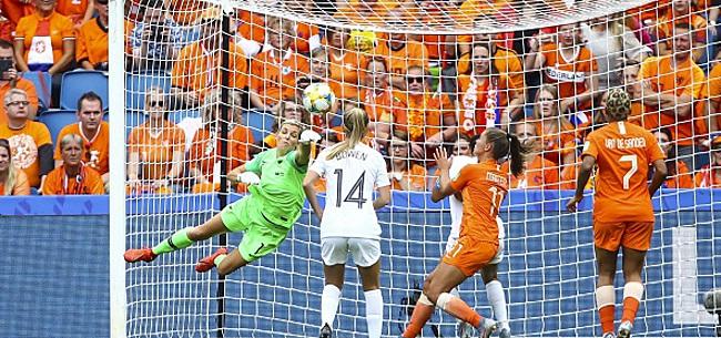 Foto: Football féminin - Les Pays-Bas s'imposent sur le fil