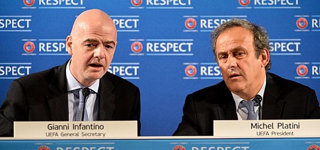 Foto: Voici le montant colossal que réclame Michel Platini à l'UEFA