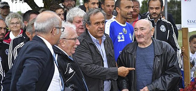 Foto: Michel Platini placé en garde à vue: il réagit