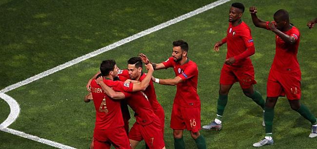 Foto: Un Portugal brouillon valide son billet pour le Championnat d'Europe