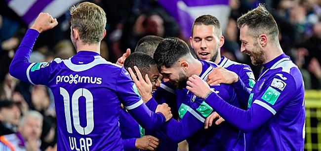 Foto: Anderlecht se fait plaisir face à Eupen et revient à quatre points de Genk