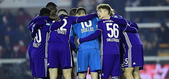 Foto: Trois Anderlechtois ont le blues