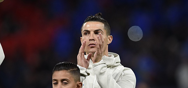 Foto: Cristiano Ronaldo ménagé, Daouda Peeters repris