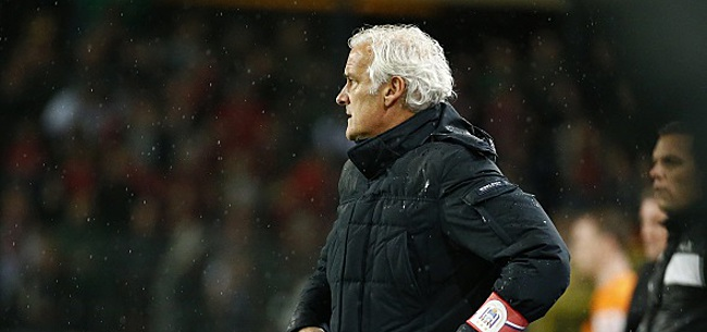 Foto: Les supporters d'Anderlecht dépités :