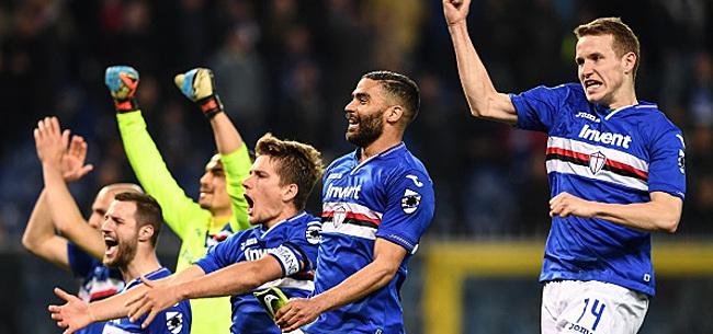 Foto: La Sampdoria de Praet termine sa saison par une victoire contre la Juventus