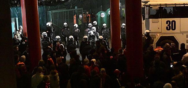 Foto: Le noyau dur des supporters d'Anderlecht veut qu'on fasse jouer les jeunes