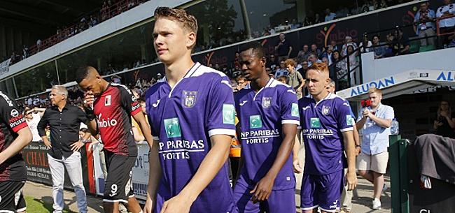 Foto: Anderlecht ne le laisse pas tomber et compte sur lui