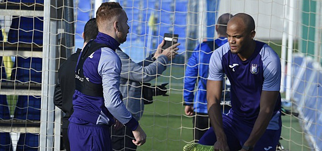 Foto: Anderlecht est mal inspiré avec Trebel