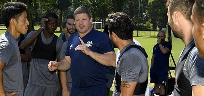 Foto: Anderlecht n'a pas tiré un numéro au hasard