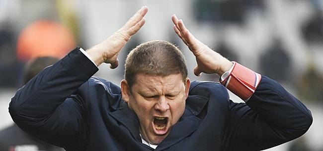 Foto: Vanhaezebrouck en a vraiment marre: