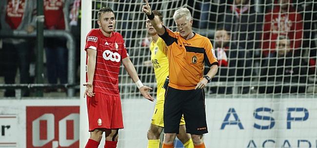 Foto: Pour Vanheusden, le VAR n'aime pas le Standard