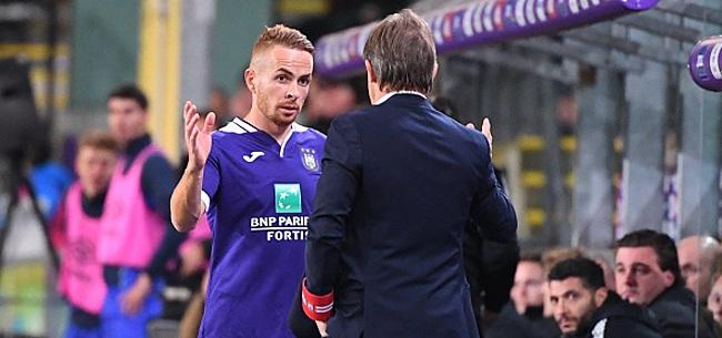 Foto: Trebel est déjà parti mais Anderlecht freine
