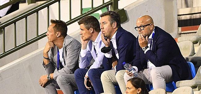 Foto: Furieux, Verhaeghe n'a pas digéré le flop de la Coupe!