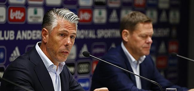 Foto: Un souci en moins: Anderlecht a réglé le différend en douceur