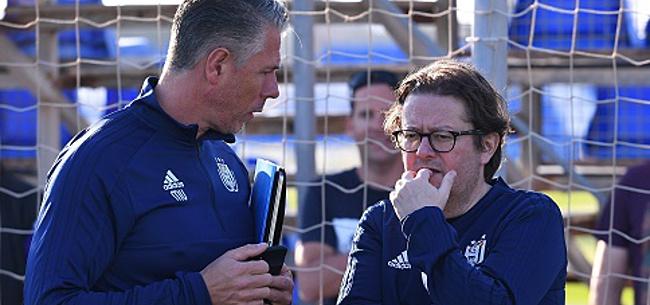 Foto: Anderlecht a été contraint de travailler à nouveau avec Bayat