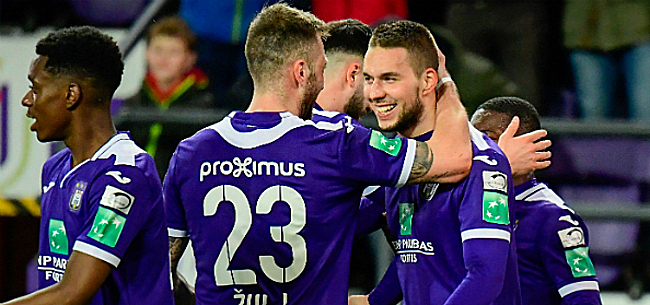 Foto: Anderlecht retrouve un cadre contre Waasland-Beveren