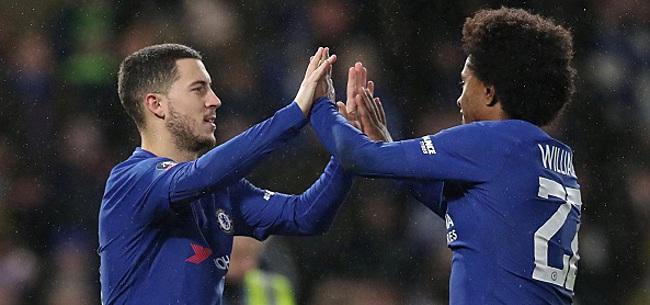 Foto: Hazard au Real ? Willian se mouille :