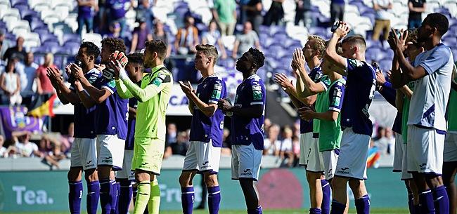 Foto: Sonck très dur envers un Anderlechtois :