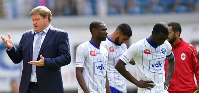 Foto: OFFICIEL Après une saison décevante, Gand se sépare de ce joueur
