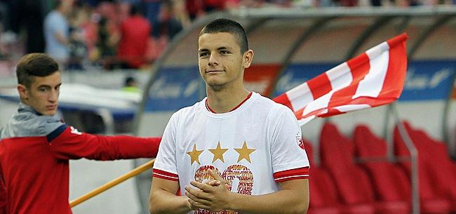 Foto: L'Eintracht Francfort signe un grand espoir serbe pour remplacer Jovic