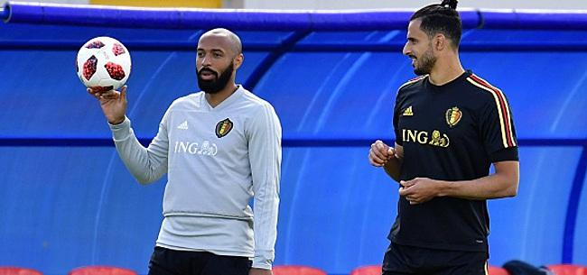 Foto: Chadli et Tielemans retrouvent Henry à Monaco: