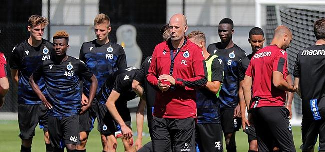 Foto: Le Club de Bruges pousse un de ses joueurs vers la sortie