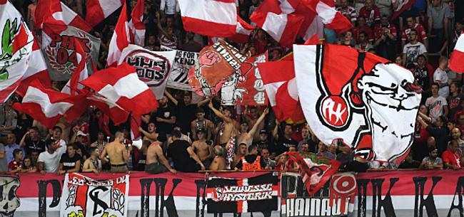 Foto: Les supporters du Standard se font remarquer