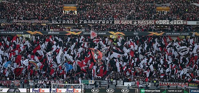 Foto: Officiel : Francfort privé de ses supporters au Standard !