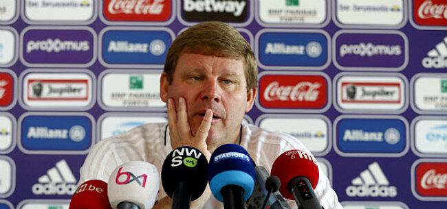 Foto: Le statistique qui fait mal à Hein Vanhaezebrouck avant Malines-Anderlecht