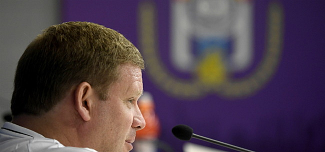 Foto: Pour Van Haezebrouck, cet Anderlechtois a toutes les chances d'aller au mondial