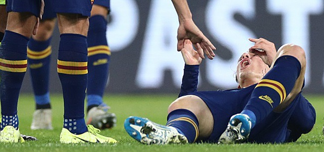 Foto: Rupture du ligament croisé: un Italien va sans doute manquer l'Euro