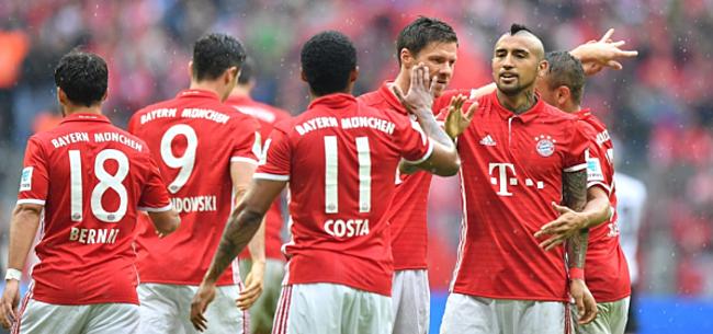 Foto: AMICAL - Eupen prend l'eau face au Bayern Munich